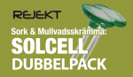 Solcell Dubbelpac